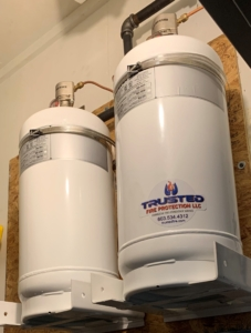 Kitchen Fire Suppression System Cylinders