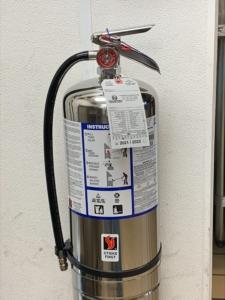 K-Class Fire Extinguisher